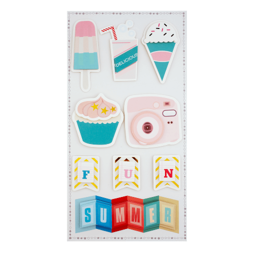 Stickers pour scrapbooking