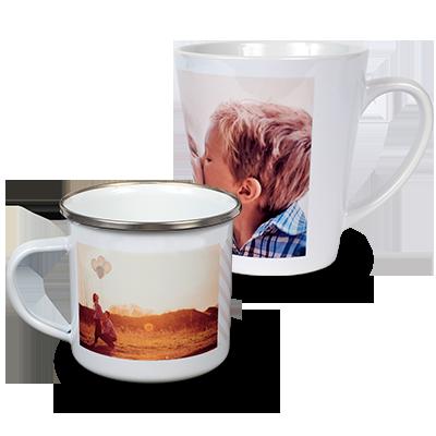 Avec les mugs personnalisés mugs personnalisés